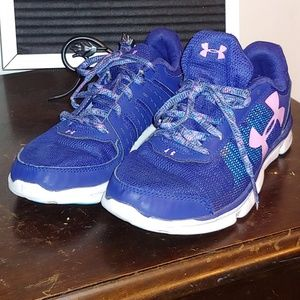 Under armour girls blue & lavender size 4